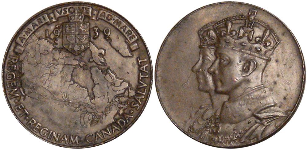 EF-40 - Médaille - Visite royale - 1939