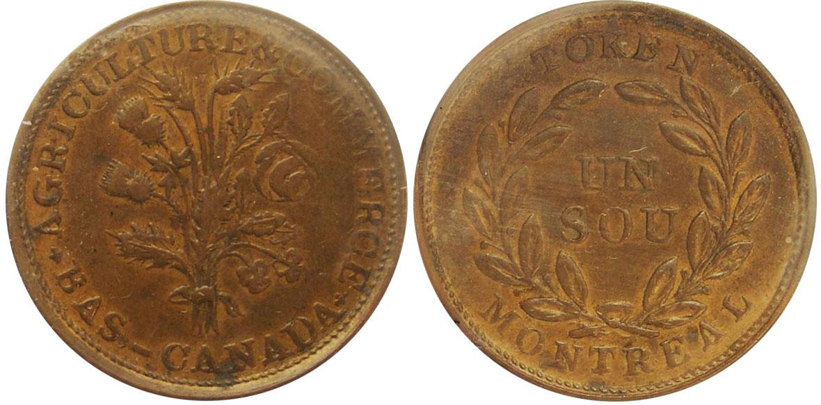 EF-40 - Bouquet - 1 sou 1838