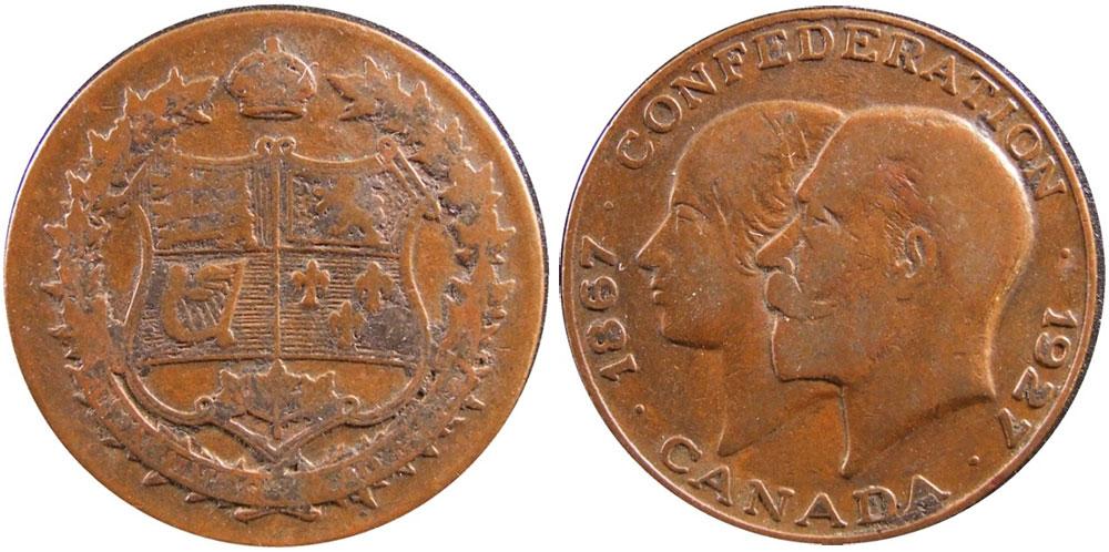 VG-8 - Confédération - Canada - 1867-1967