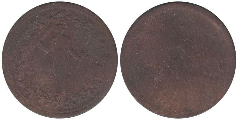 AG-3 - Irlande - 1/2 penny 1830