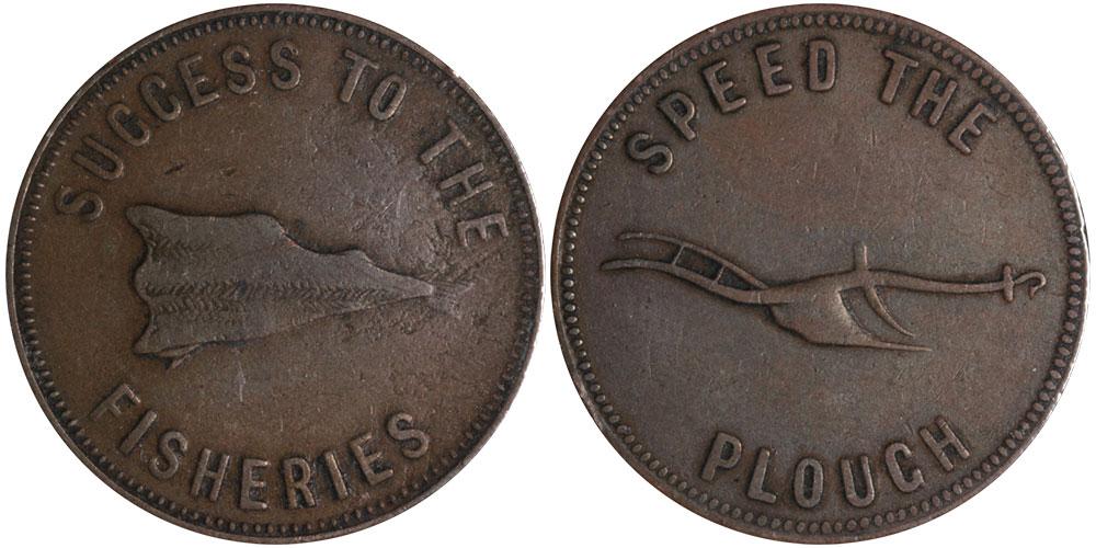 F-12 - E.L. Lydiard - 1 cent 1859