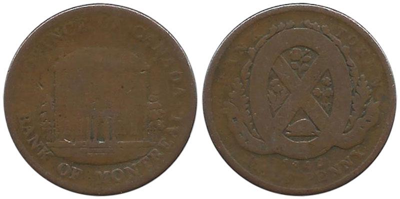 AG-3 - 1/2 penny 1842