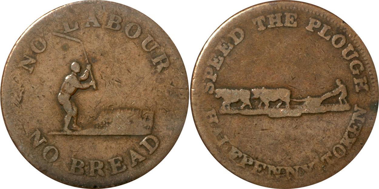 G-4 - Perrins Bros. - 1/2 penny 1837