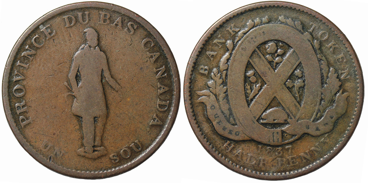 G-4 - 1/2 penny 1837