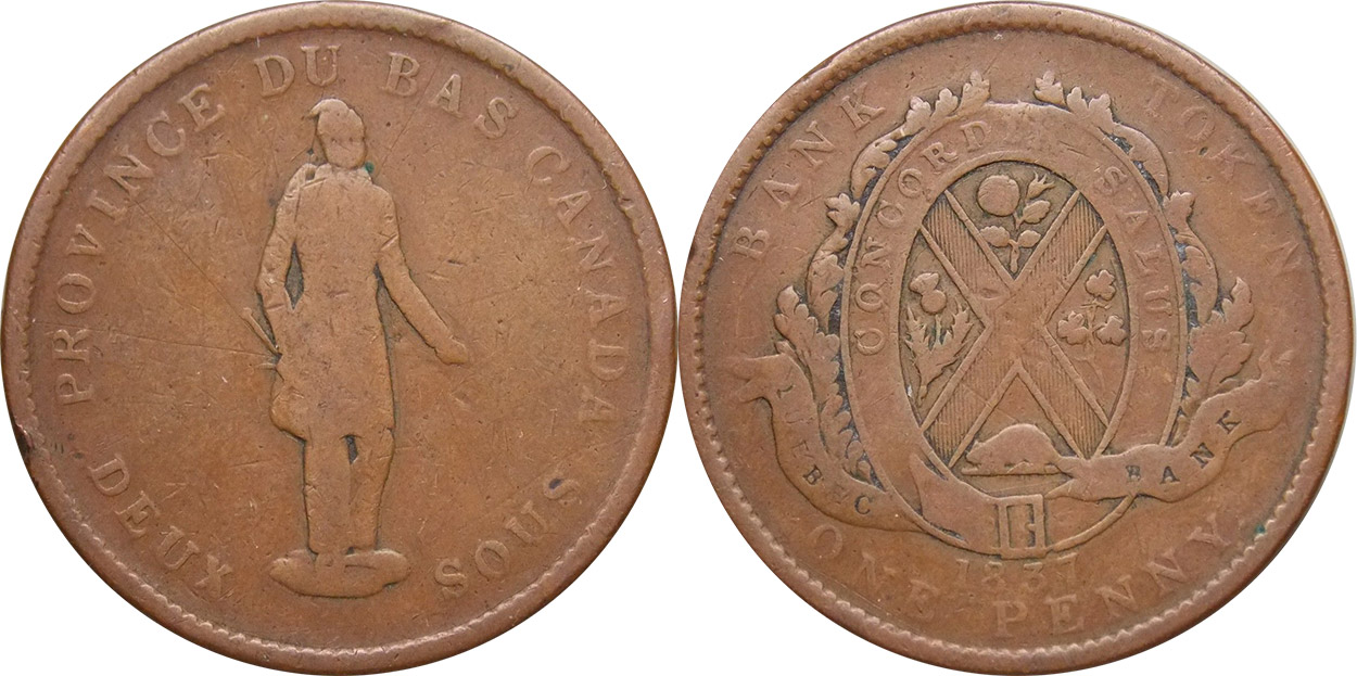 G-4 - 1 penny 1837
