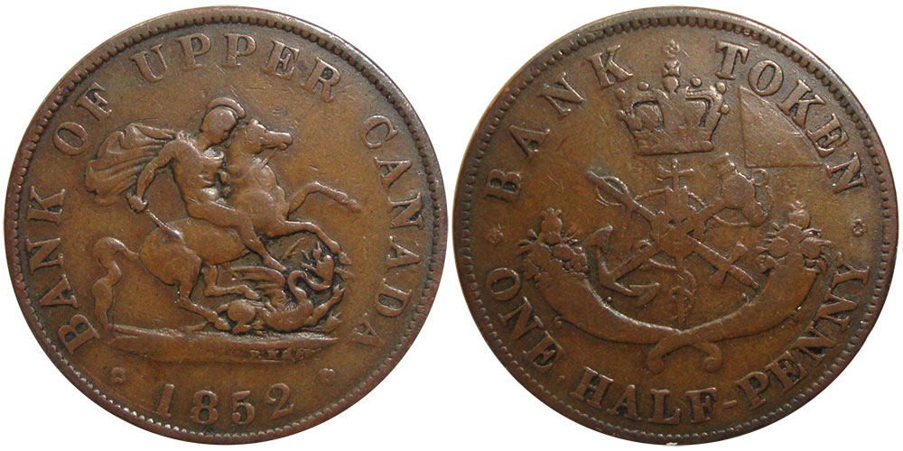 G-4 - 1/2 penny 1852