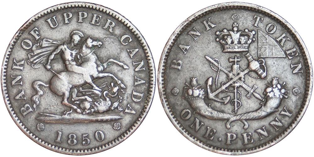F-12 - 1 penny 1850