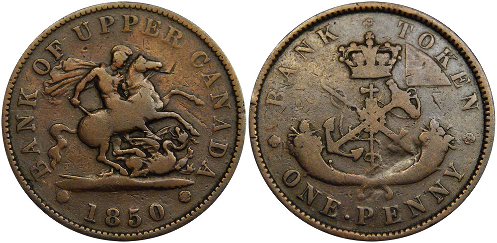 G-4 - 1 penny 1850