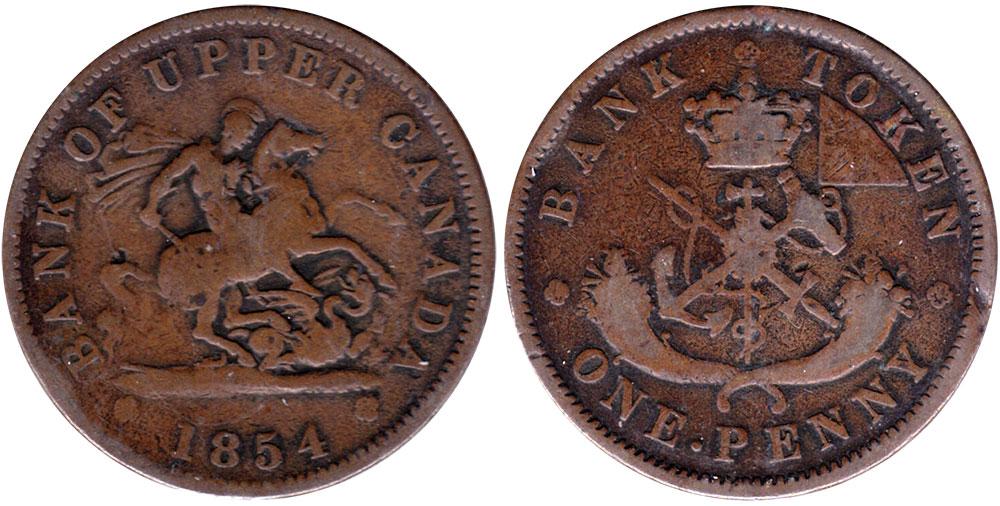 G-4 - 1 penny 1854