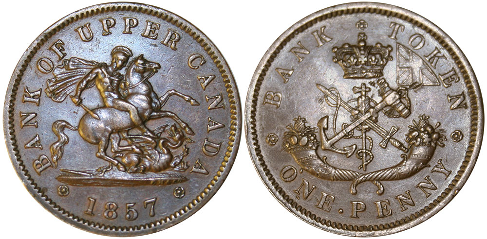 EF-40 - 1 penny 1857