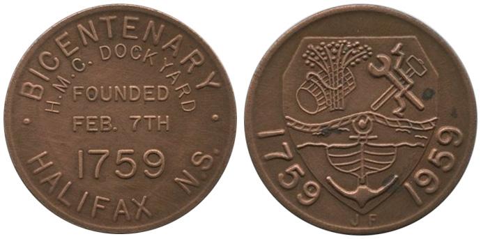 H.M.C. Dockyard - 1759-1959