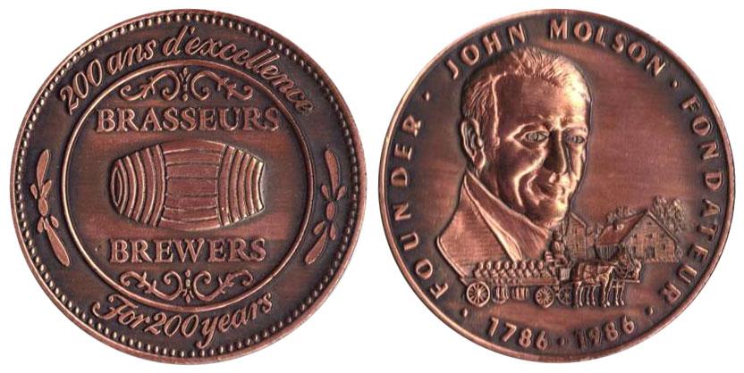John Molson - Founder - 1786-1986