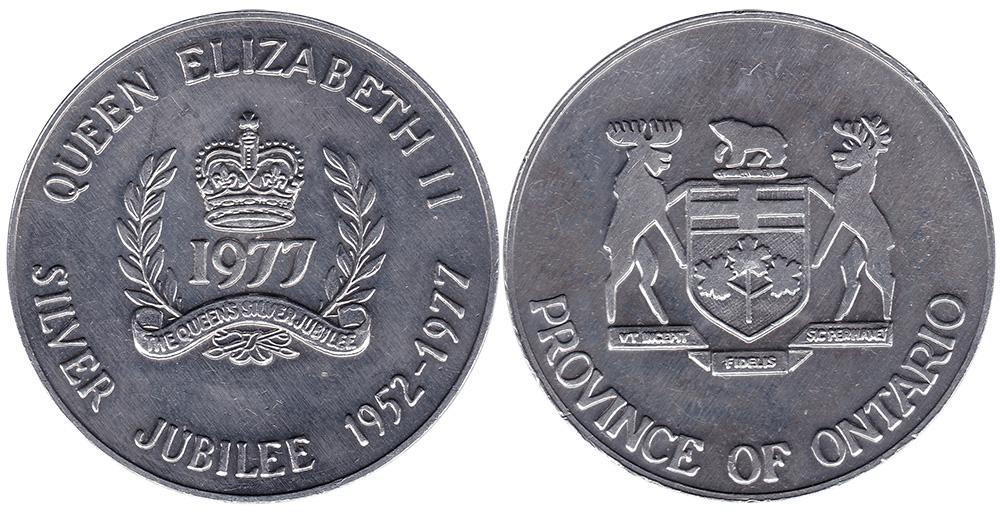 Queen Elizabeth II Silver Jubilee - Ontario