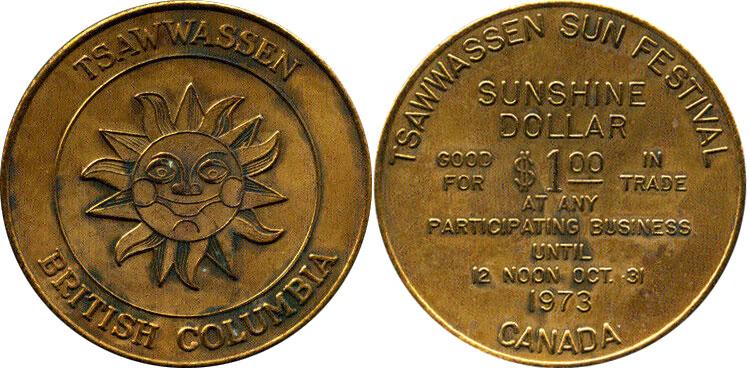 Tsawwassen - Sunshine Dollar