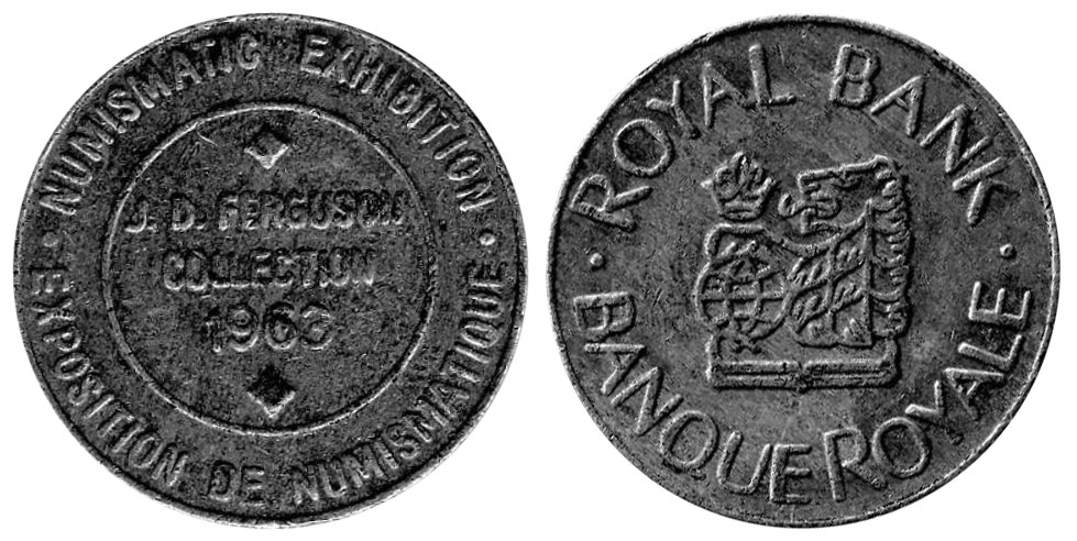 Numismatic Exhibition - Royal Bank - 1966