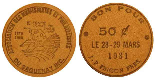 Saguenay - 50 cents 1981