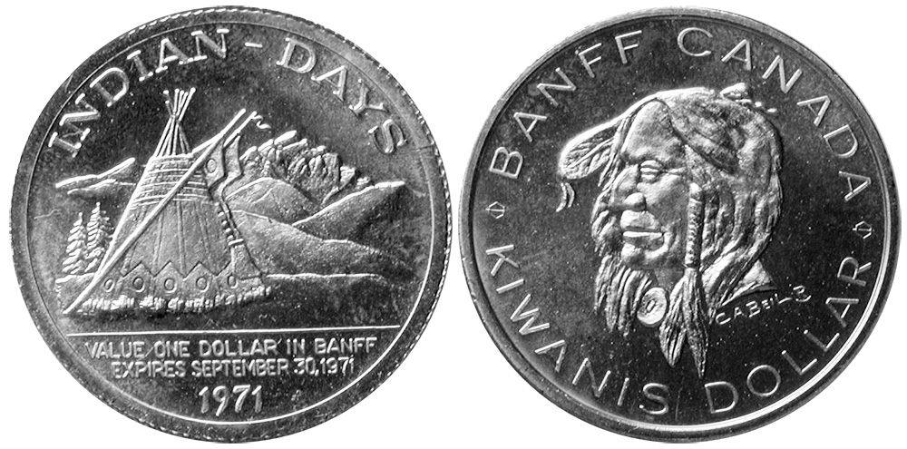 Banff - Kiwanis Dollar - Indian-Days