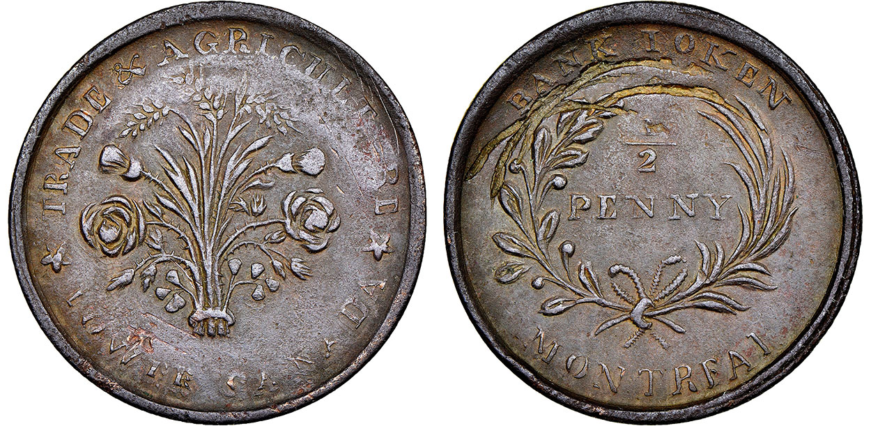 Bank of Montreal - 1/2 penny - Undated