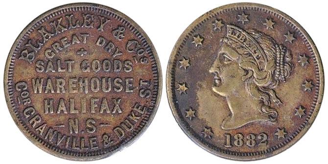 Blakley & Cos - 1882 - Halifax