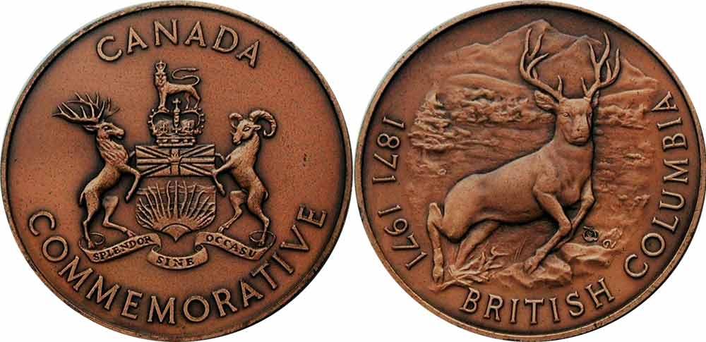 British Columbia - 1871-1971
