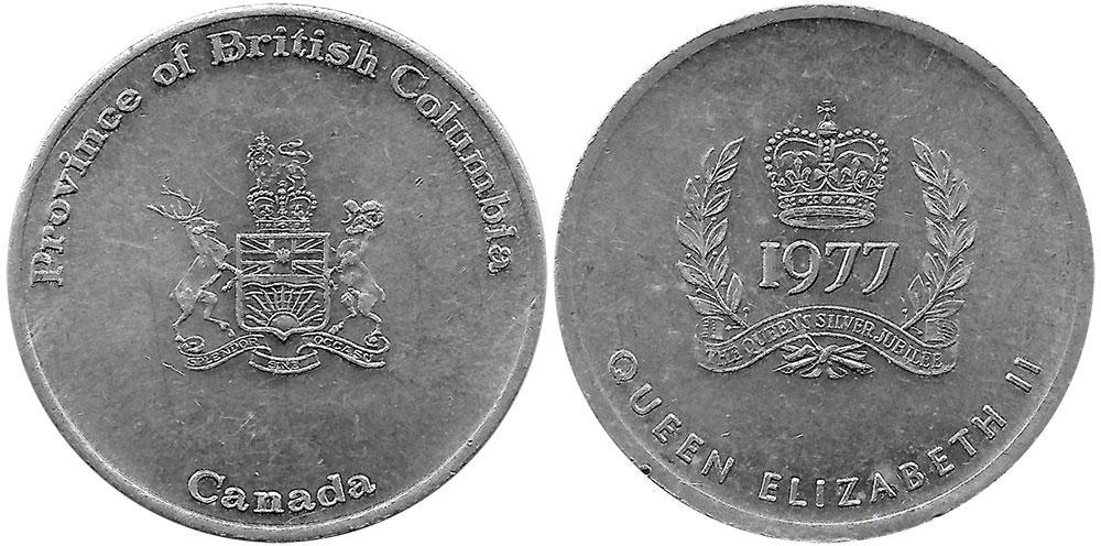 British Columbia - Silver Jubilee - 1977
