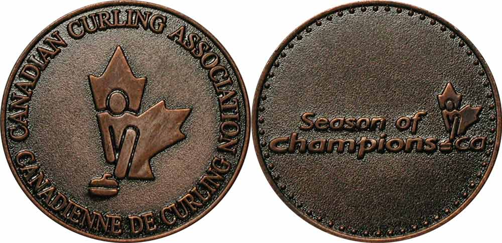Canadian Curling Association - M�daillon