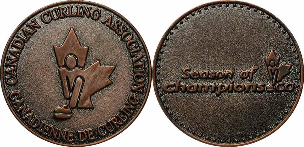 Canadian Curling Association - Médaillon