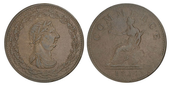 Commerce - 1 penny 1814