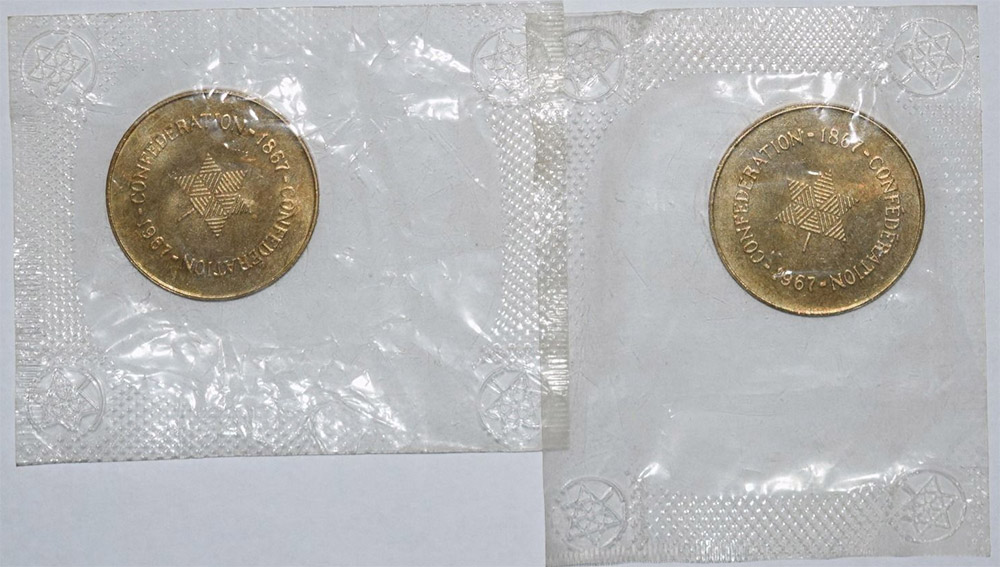 Coins and Canada - Tokens and medals of Canada, merchant