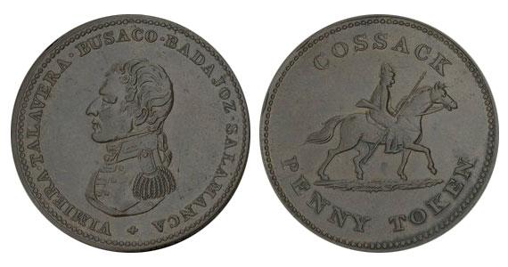 Cossack - 1 penny 1814