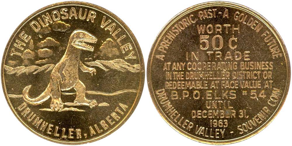 Drumheller - Dinosaur Dollar