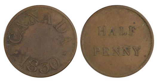Duncan & Company - 1/2 penny 1830