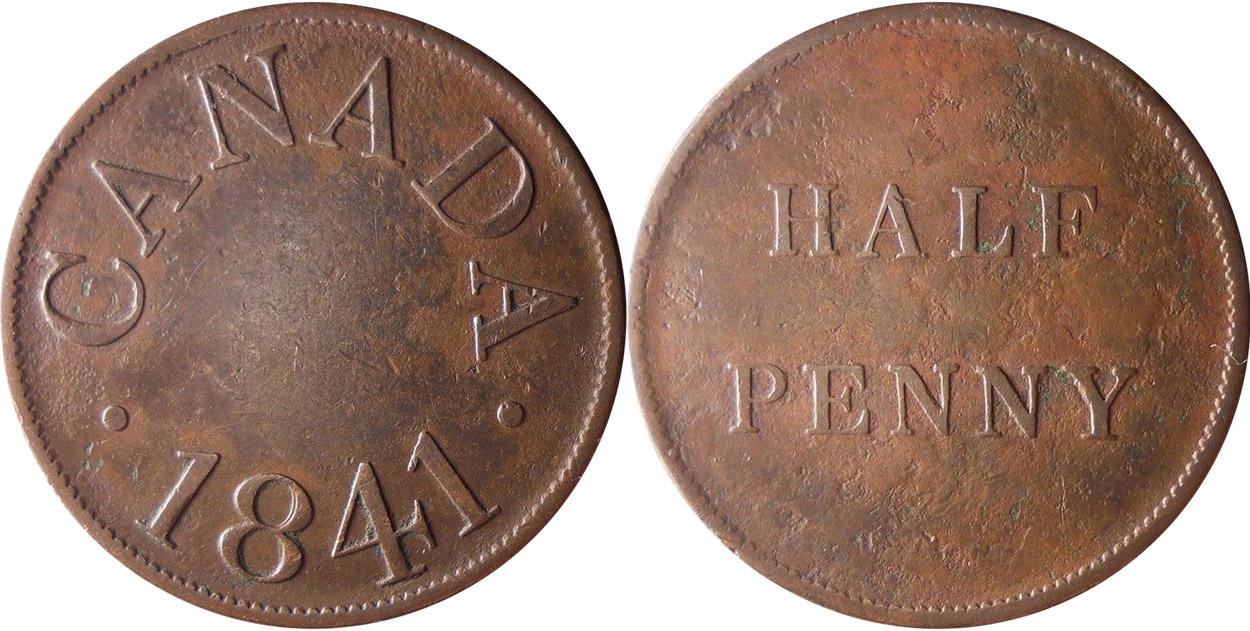 Duncan & Company - 1/2 penny 1841