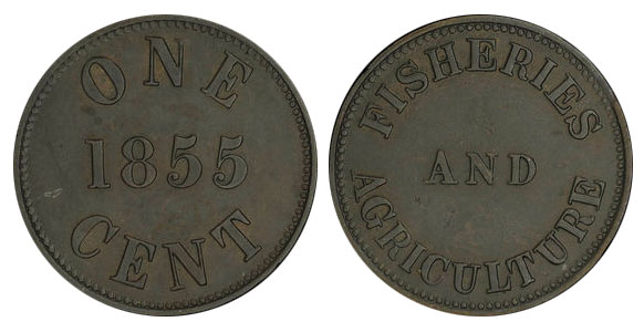Duncan & Company - 1 cent 1855