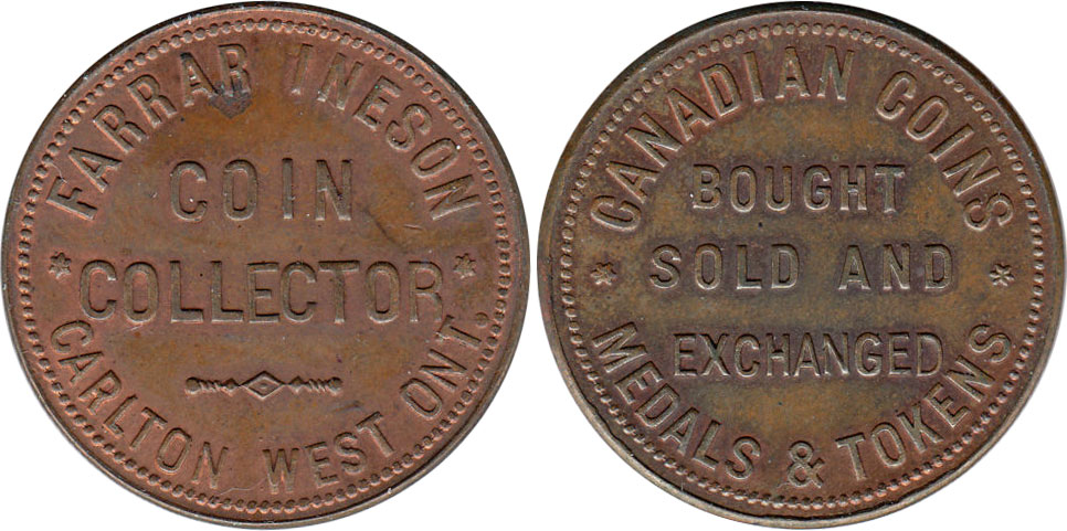Farrar Ineson - Coin Collector