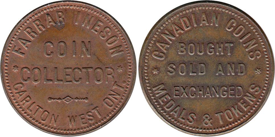 Farrar Ineson - Coin Collector