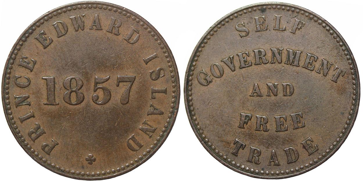 George Davies - 1/2 penny 1857