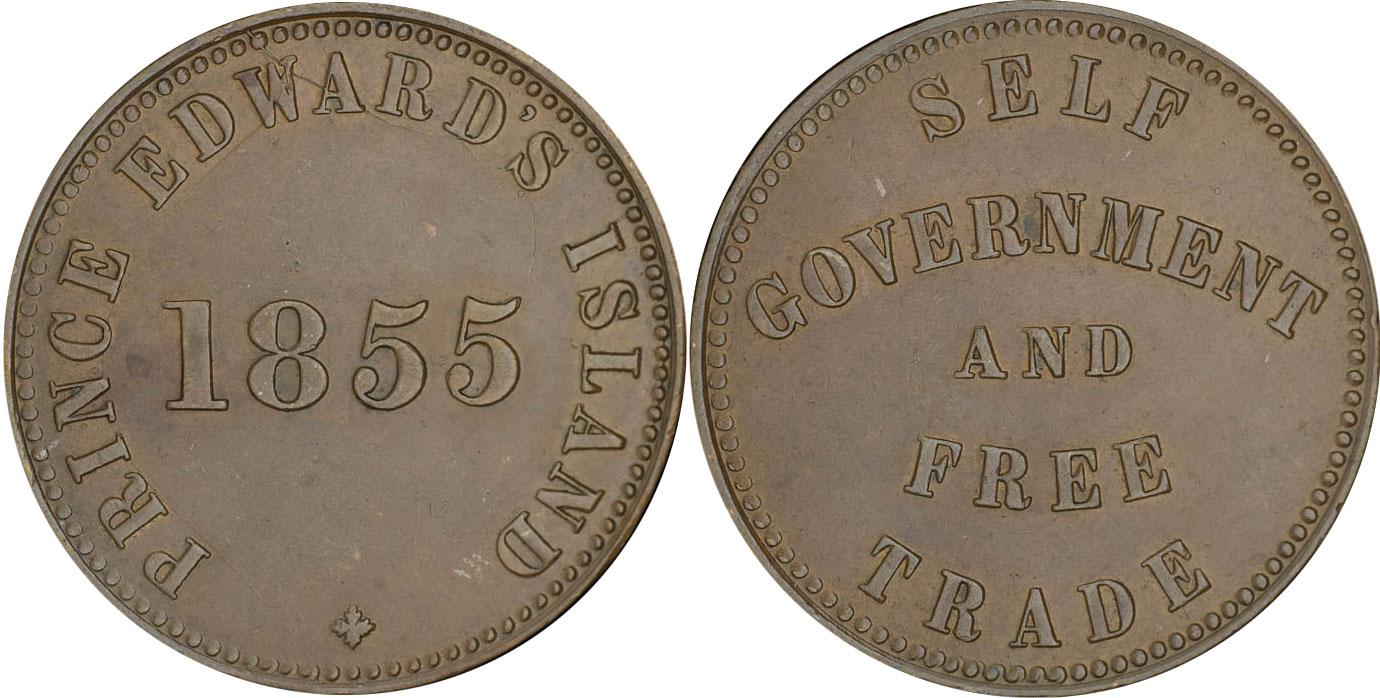George Davies - 1/2 penny 1855 - Edward's