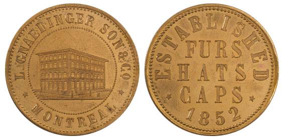 L. Gnaedinger, Son & Company - 1852