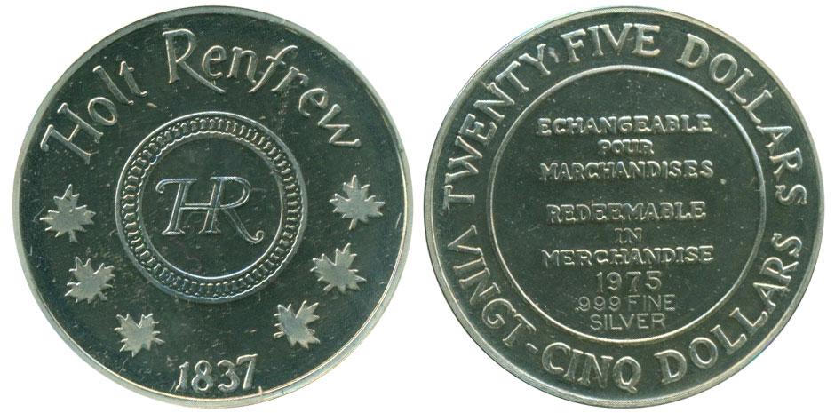 Holt Renfrew - 25 dollars