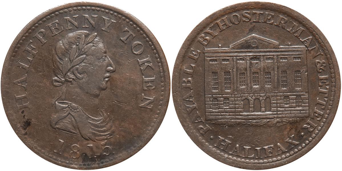 Hosterman & Etter - 1/2 penny 1815