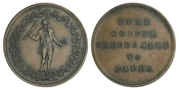Ireland - 1/2 penny 1830