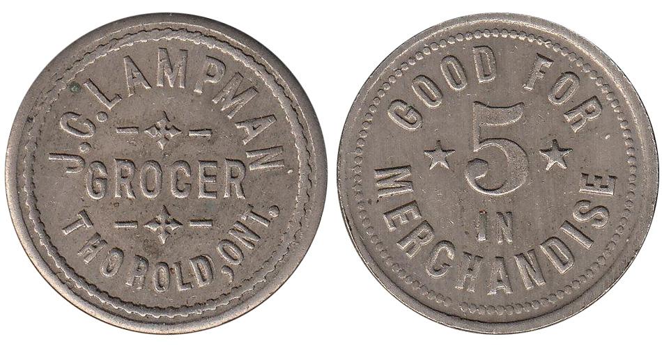J.C. Lampman - Thorold - Grocer