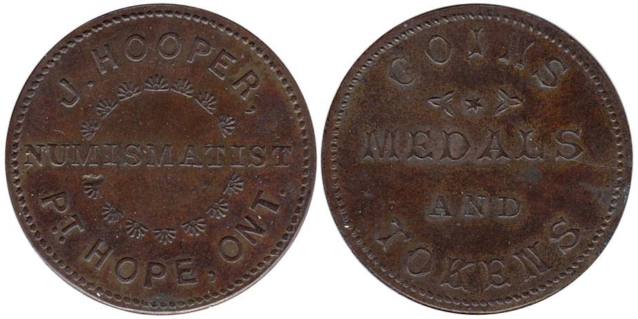 J. Hooper - Numismatist