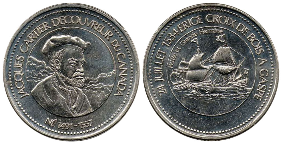 Jacques Cartier - 24 juillet 1534