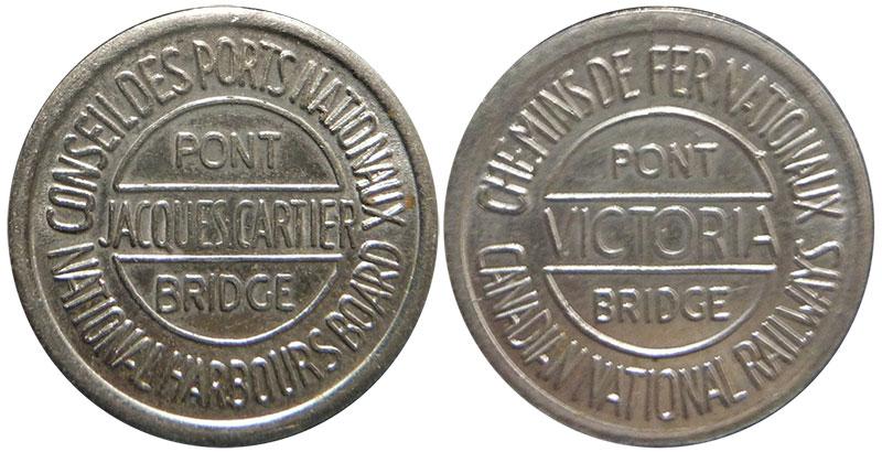 Victoria and Jacques-Cartier Bridges