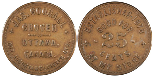 Jas. Goodall - Ottawa - Grocer
