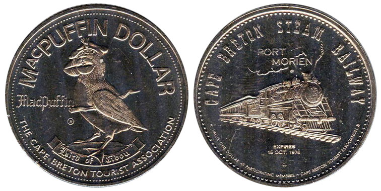 Cape Breton - MacPuffin Dollar