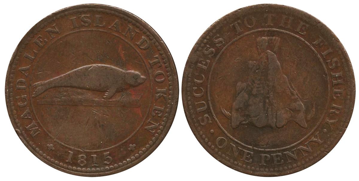 Magdalen Island - 1815