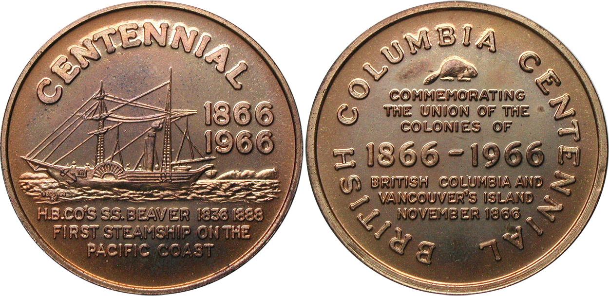 British Columbia Steamship - 1866-1966